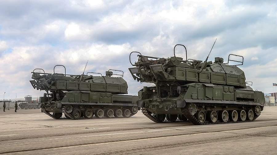 Минобороны развернуло вРостовской области ЗРК «Тор-М2У»