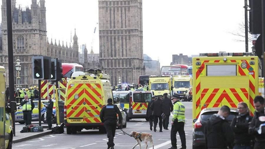Теракт в Лондоне. Хроника событий
