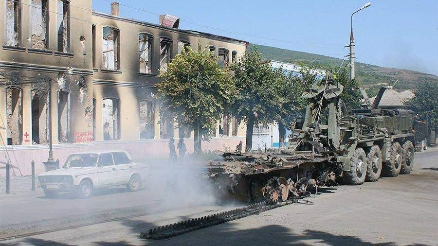 Путин: Саакашвили в 2008г никто немешал напасть наЮжную Осетию