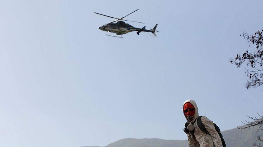 Каракас назвал угонщика вертолета агентом ЦРУ