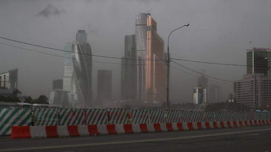Ухудшение погоды в столице России предполагается с13 часов