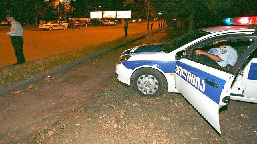 ВГрузии перевернулся следовавший из столицы вЕреван автобус