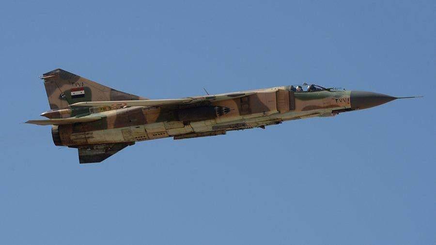 Коалиция воглаве сСША сбила самолет ВВС Сирии