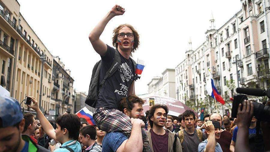 В милиции назвали число участников мероприятий в столицеРФ